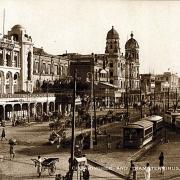 Chowringhee and tram terminus